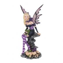 AMETHYST AND HATCHLINGS  MEDIUM FAIRY